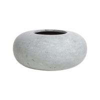 Кашпо donut grey d60 h26 см