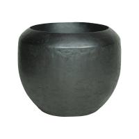 Кашпо loft black iron d50 h40 см