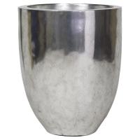 Кашпо pandora silver leaf d50 h60 см