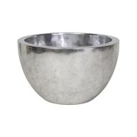 Кашпо pandora silver leaf (single wall) d60 h35 см