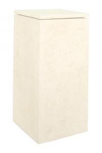 Кашпо style cream l33 w33 h70 см