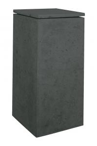 Кашпо style anthracite l33 w33 h70 см