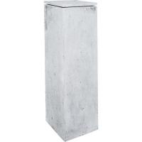 Кашпо style grey l33 w33 h100 см