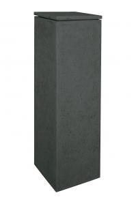 Кашпо style anthracite l33 w33 h100 см