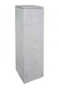 Кашпо style grey l40 w40 h120 см