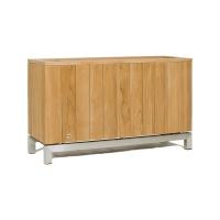 Кашпо kayu room divider natural teak l100 w35 h60 см