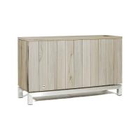Кашпо kayu room divider vintage-grey teak l100 w35 h60 см