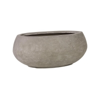 Кашпо division planter natural-concrete l90 w45 h40 см