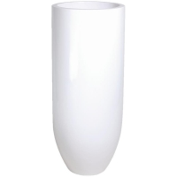 Кашпо pandora white d50 h125 см