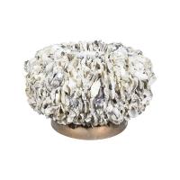 Кашпо shell oyster bowl white shell d50 h30 см