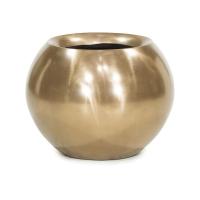 Кашпо glory ball bronze d45 h35 см