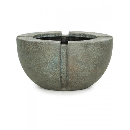 Кашпо patina verdrigris-bronze d70 h35 см