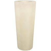 Кашпо conical planter cream d46 h95 см