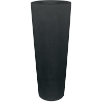 Кашпо conical planter anthracite d48 h110 см