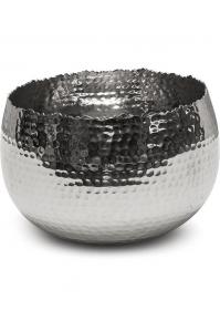 Чаша taza bowl polished aluminium d21 h14 см