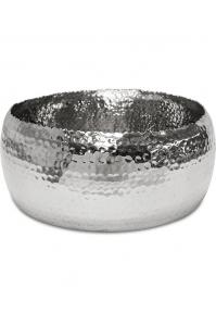 Чаша hoop bowl polished aluminium d31 h13 см