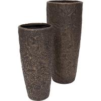 Кашпо rocky planter bronze d43 h100 см
