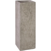 Кашпо division plus planter natural-concrete l35 w35 h100 см
