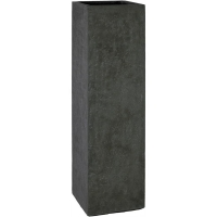 Кашпо division plus planter anthracite l35 w35 h120 см