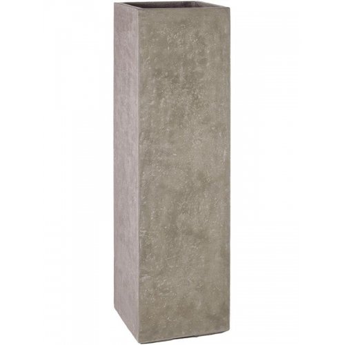 Кашпо division plus planter natural-concrete l35 w35 h120 см