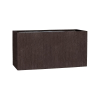 Кашпо fiberstone earth jort m sundried brown l100 w40 h50 см