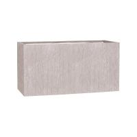 Кашпо fiberstone earth jort m sundried white l100 w40 h50 см