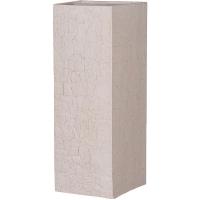 Кашпо fiberstone earth bouvy xxl sundried white l50 w50 h120 см