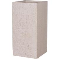 Кашпо fiberstone earth bouvy l sundried white l40 w40 h80 см