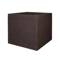 Кашпо fiberstone earth jumbo xl sundried brown l110 w110 h98 см