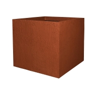 Кашпо fiberstone earth jumbo xl sundried red l110 w110 h98 см