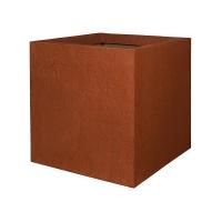 Кашпо fiberstone earth jumbo l sundried red l90 w90 h90 см