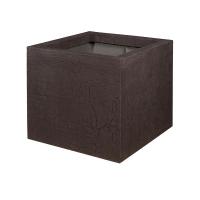 Кашпо fiberstone earth jumbo m sundried brown l70 w70 h62 см