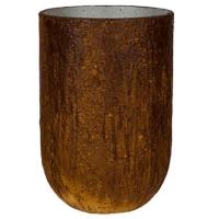Кашпо raw cody high s running rust d28 h40 см