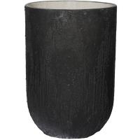 Кашпо raw cody high s burned black d28 h40 см