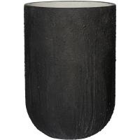 Кашпо raw cody high m burned black d35 h51 см