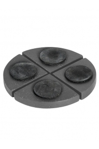 Подножки fiberstone accessoires pot feet grey (4) h2 см