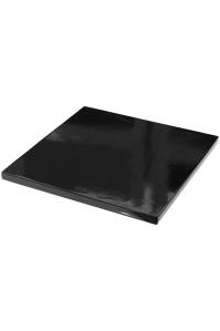 Подставка fiberstone accessoires glossy black topper m (thin) l35 w35 h3 см