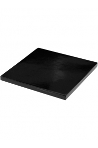 Подставка fiberstone accessoires glossy black topper s (thin) l25 w25 h3 см