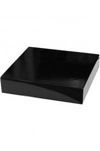 Подставка fiberstone accessoires glossy black topper m (thick) l35 w35 h8 см