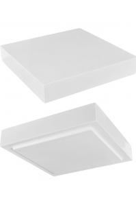 Подставка fiberstone accessoires glossy white topper l (thick) l40 w40 h8 см