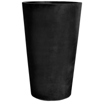 Кашпо fiberstone black belle xxl d100 h150 см