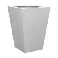Кашпо fiberstone glossy white jumbo thom l l88 w88 h120 см