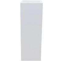 Кашпо fiberstone glossy white yang l35 w35 h100 см