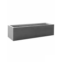 Кашпо fiberstone jumbo jort grey m l200 w60 h50 см