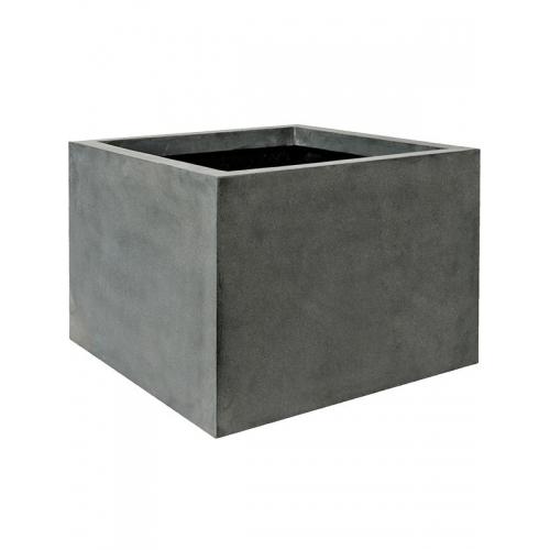 Кашпо fiberstone jumbo middle high grey m l70 w70 h53 см