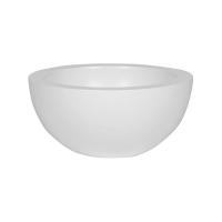 Кашпо fiberstone matt white vic bowl s d39 h19 см