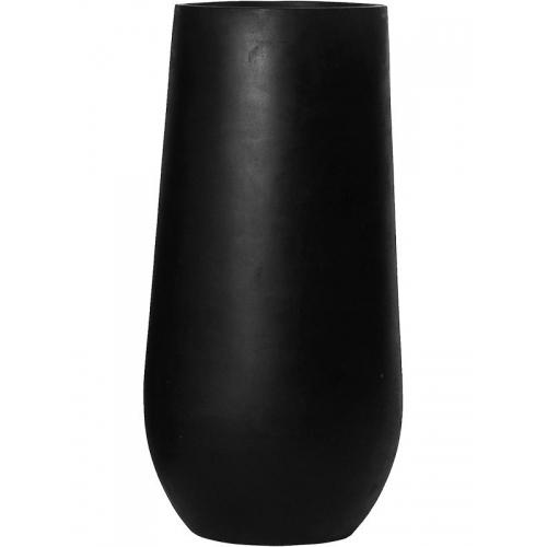 Кашпо fiberstone nax m black d34 h70 см