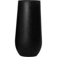 Кашпо fiberstone nax l black d50 h101 см