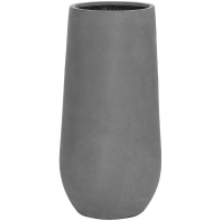 Кашпо fiberstone nax m grey d34 h70 см