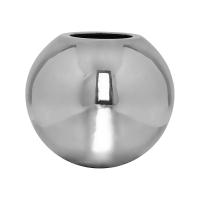 Кашпо fiberstone platinum silver beth m d50 h43 см
